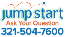 JumpStart - Ask your question. 321-504-7600.