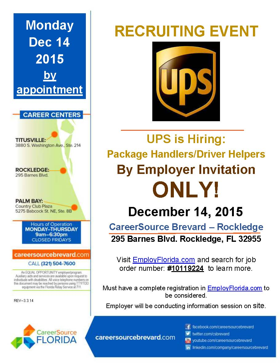 ups rockledge fl